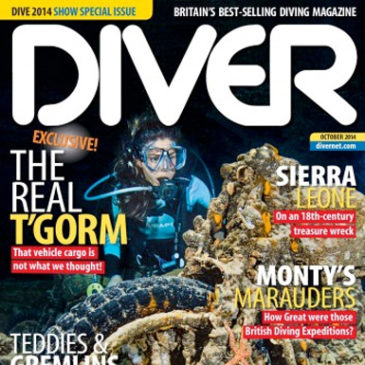 DIVER Magazine | Shooting for Tethys | Article